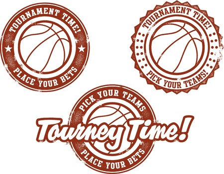 basketball Tournament Time Vector