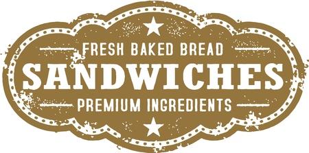 Vintage Deli Sandwich Aanmelden