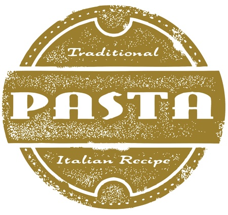 Vintage Pasta Menu Graphic Vector