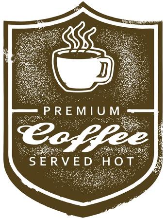 Vintage Premium Coffee Aanmelden
