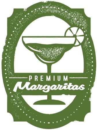Premium Margaritas Bar Stamp