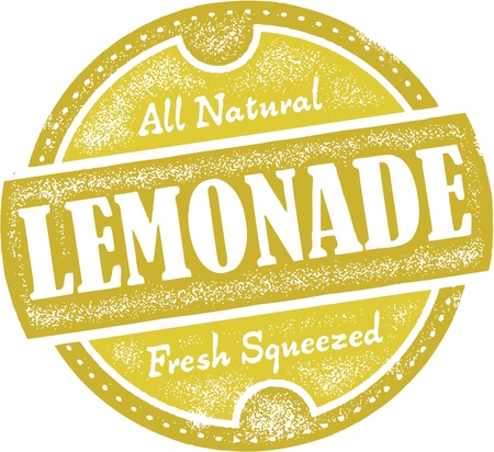 Vintage Lemonade Sign