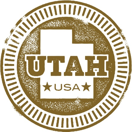 Utah USA State Stamp/Seal