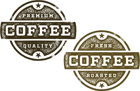 Vintage Coffee Signs Vector