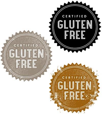 Gluten Free Stamps Reklamní fotografie - 19356681