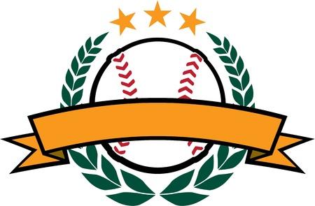 Baseball or Softball Award Design