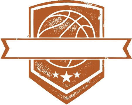 Basketball Team Crest Vector
