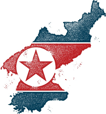 North Korea Country Clip Art Vector