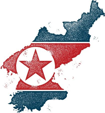 north korea: North Korea Country Clip Art