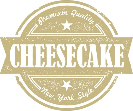New York Cheesecake Vector