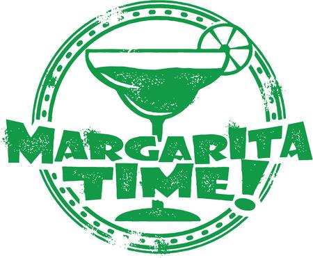 마가리타 칵테일 스탬프 스톡 콘텐츠 - 25666691