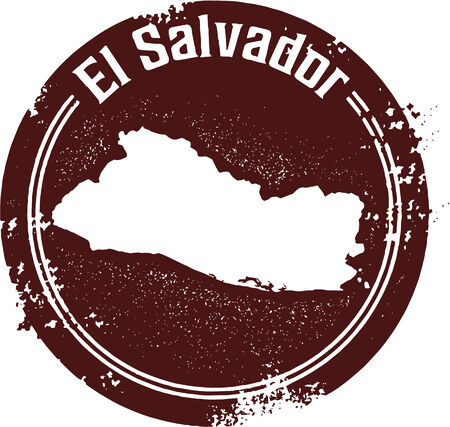 el salvador: El Salvador Central American Country Stamp