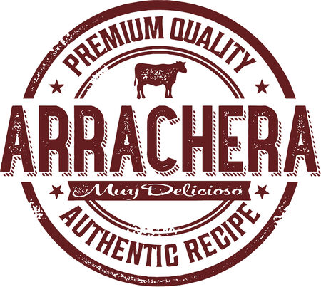 flank: Premium Arrachera messicana Steak Stamp
