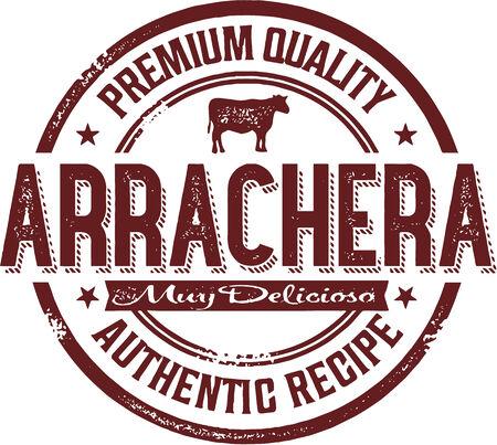 Premium Arrachera Mexican Steak Stamp