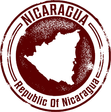 passport stamp: Nicaragua Central America Stamp