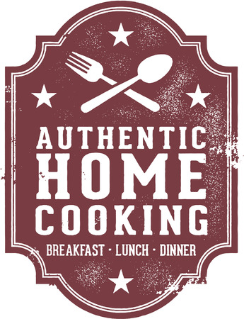 homestyle: Authentic Home Cooking Sign