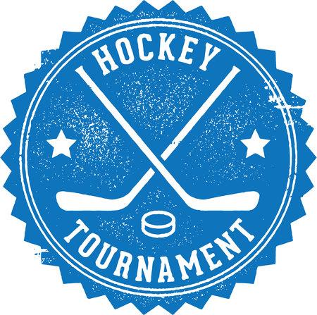 puck: Hockey Tournament Stamp