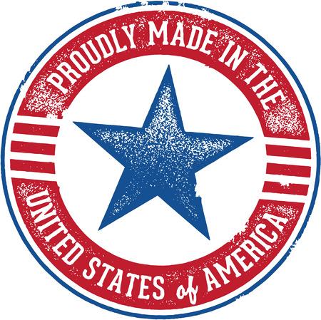 자랑스럽게 미국 기호 제