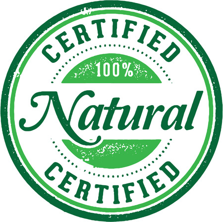 produce product: Certified Natural Product Label