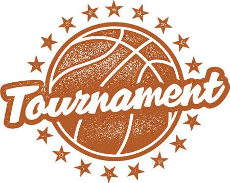Basketball Tournament Ilustrace