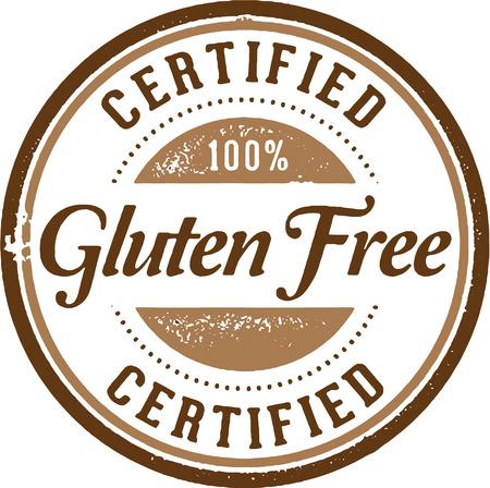 celiac: Certified Gluten Free Stamp