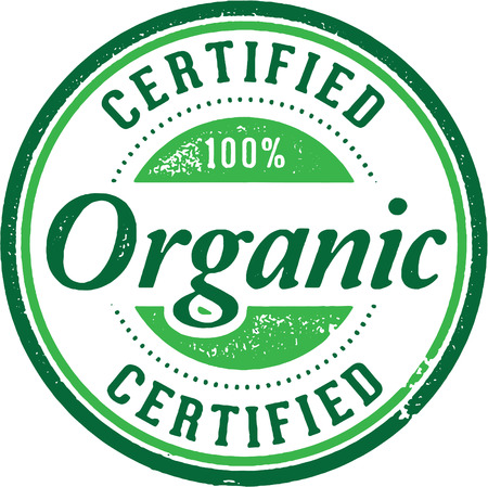 Certified Organic Product Stamp