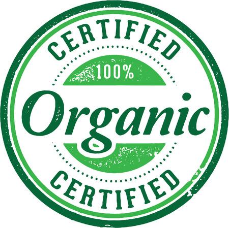 Gecertificeerd biologisch product Stamp
