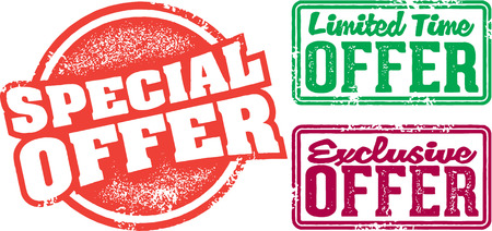 special: Special Limited Time Offer