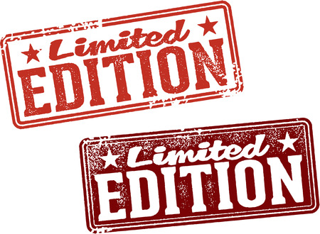 limited: Limited Edition Product Stamp