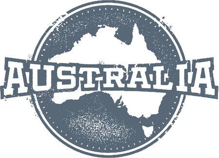 australia stamp: Vintage Australia Stamp