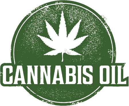 cannabis: Cannabis Oil Stamp
