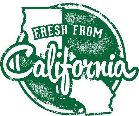 カリフォルニアから新鮮です