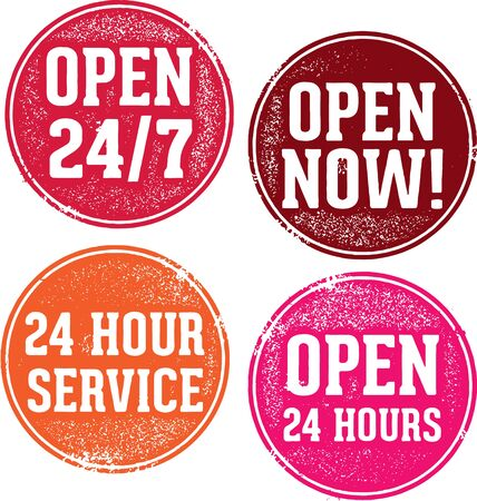 the hours: Open 24 Hours