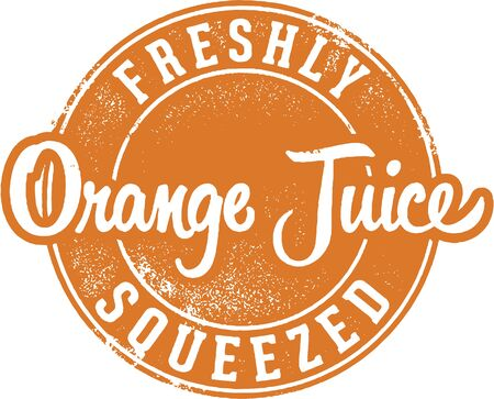 orange juice: Freshly Squeezed Orange Juice