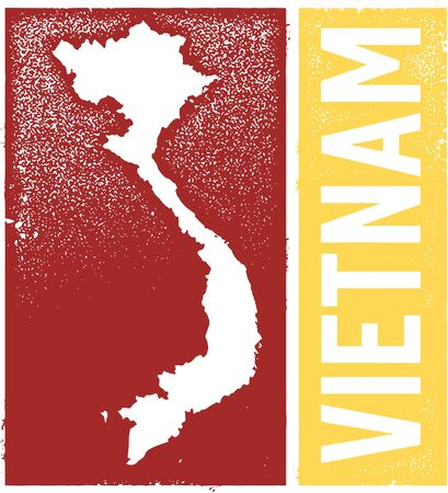 Vietnam Vintage Country Graphic