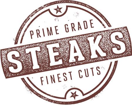 Prime Grade Steaks Beef Stamp