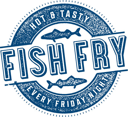 Friday Night Fish Fry Иллюстрация