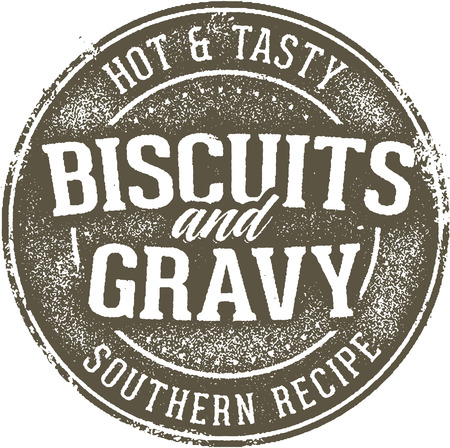 Vintage Biscuits and Gravy Distressed Sign