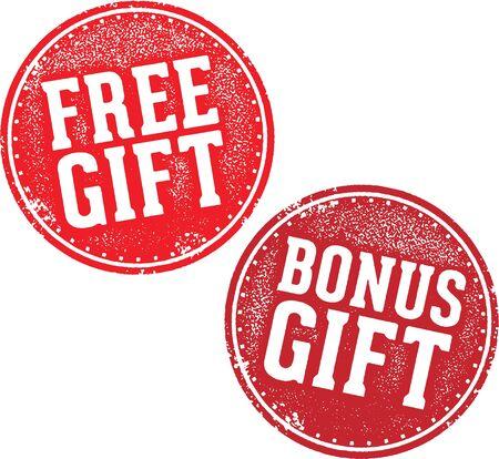Free and Bonus Gift Stamp