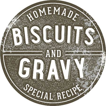 Homemade Biscuits and Gravy Sign