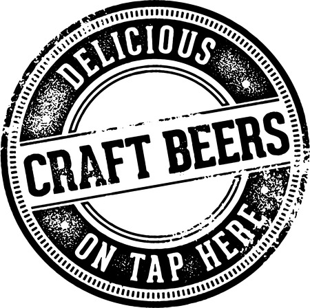 Craft Beers on Tap Here