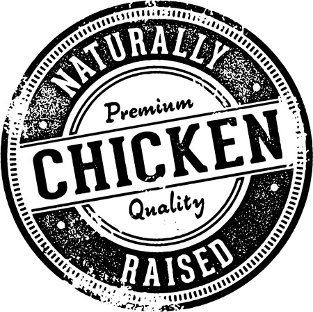 southern: Naturally Raised Chicken Sign