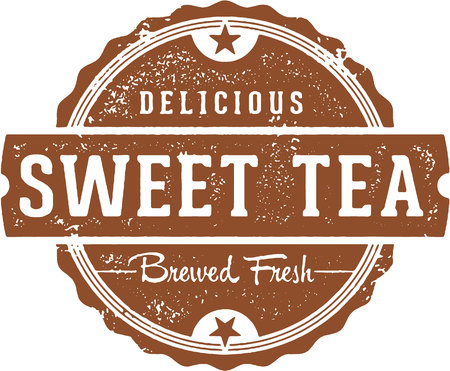 Fresh Sweet Tea Vintage Sign