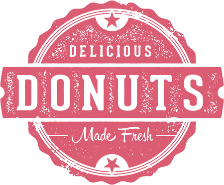 Fresh Delicious Donuts Bakery Sign