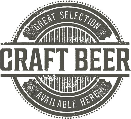 Znak barowy piwa rzemieślniczego