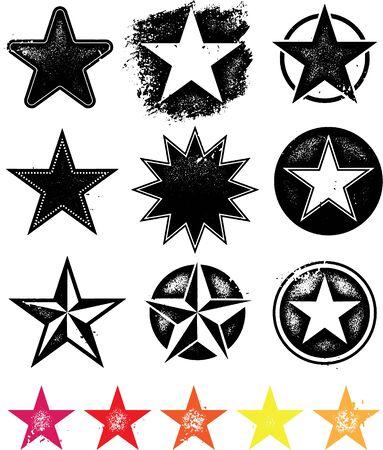 Grunge star collection.