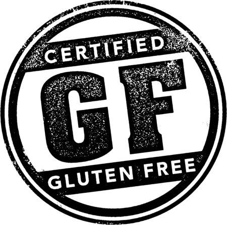 Certified Gluten Free Stamp.