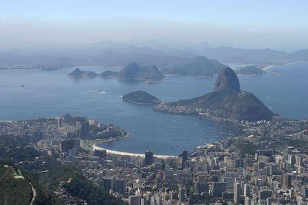 A areal view of Rio de Janeiro. photo