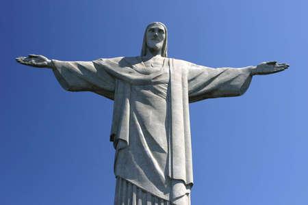 The corcovado a famous landmark in Rio de Janiero, Brazil Stock Photo - 5742383