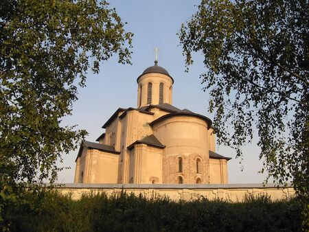 reverential: Chiesa di notte Archivio Fotografico